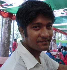 Young Man in Bangladesh